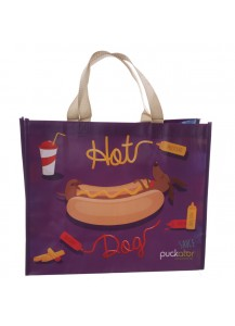 Hot Dog Shopping Bag