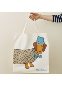 Larry Long Dog shopping bag