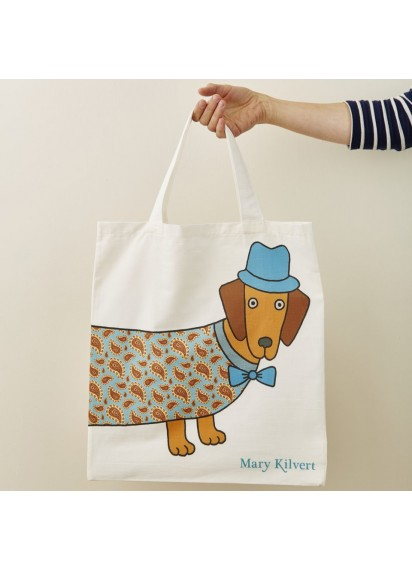 Larry Long Dog tote bag