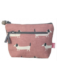 Sausage Dog Zip Purse