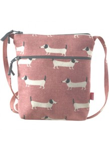 Sausage Dog Cross Body Purse