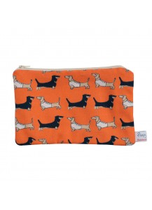 Darling Dachshund Pouch Purse