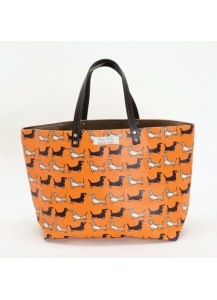 Darling Dachshund Posh Shopper