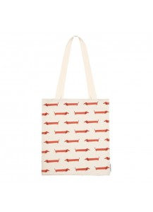 Long Dog shopping bag