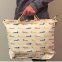 Moo+Twig reversible tote bag