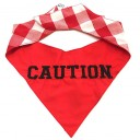 Bandana Caution