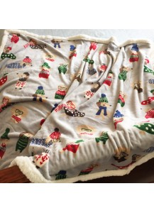 Christmas themed blanket