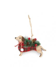 Christmas Dachshund Wonderland Ornament