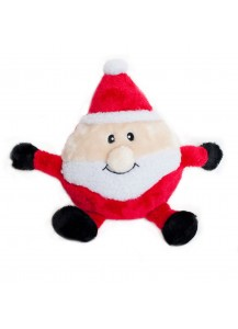 Santa Plush Dog Toy