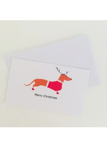 5 Pack Christmas gift tags