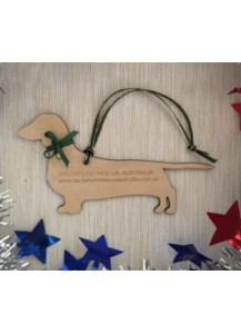 Dachshund Rescue Australia decoration