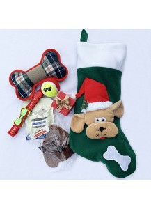 Doggie stocking - 3D Green
