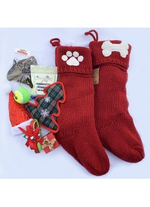 Doggie stocking - Premium knitted
