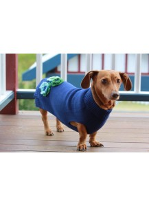 Dogue fifi flower jumper - Navy