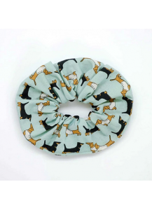 Darling Dachshund Hair scrunchie