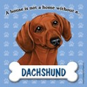 Dachshund fridge magnet