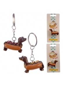 Hot Dog keyrings