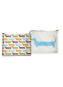 Dachshund Amenity Bag Large
