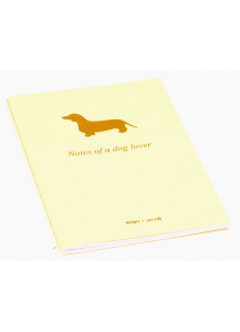 Romy & Jacob dachshund notebook