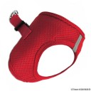 American River Ultra Choke Free Dog Harness - red