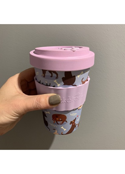 Catch Patch Dog Travel Mug