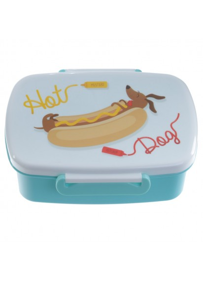 Hot Dog Lunch Box