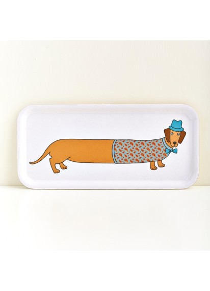 Larry Long Dog tray