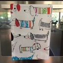 Dachshund tea towels