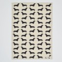 Dachshund Tea Towel