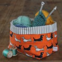 Darling Dachshund Small Storage Pot
