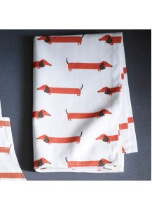 Long Dog Tea Towel