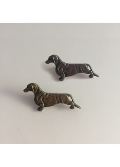 Dachshund Lapel Pin Smooth