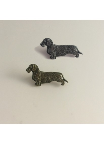 Dachshund Lapel Pin Wire