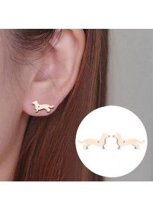 Dachshund small earrings