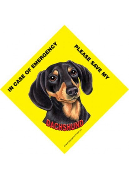 Save my Dachshund BT sign
