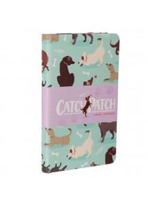 Catch Patch Dog Notebook